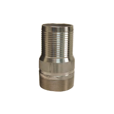 DIXON RST35 316 Stainless Steel 3 inch King Combination Nipple NPT Threaded