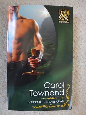 Bound to the Barbarian, Carol Townend - New - Paperback