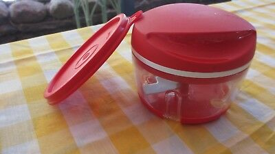 Tupperware red Happy Chopper with extra seal