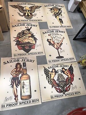 6 Sailor Jerry Posters