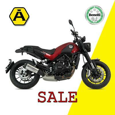 New for 2018 The Benelli Leoncino - Retro Scrambler Styling - Modern Performance