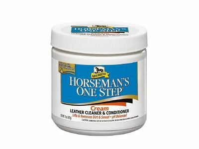 Absorbine Horsemans One Step - Cleans and Conditions Leather Tack - 425g - BN