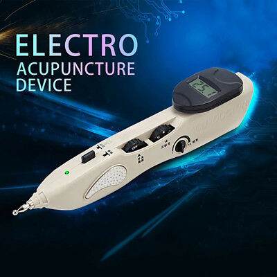 New Electronic Acupuncture Meridian Energy Health Pen Heal Massager Pain Relief