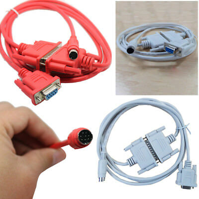 2M SC-09 SC09 Programming Cable RS232 for Mitsubishi PLC MELSEC FX&A Series Red