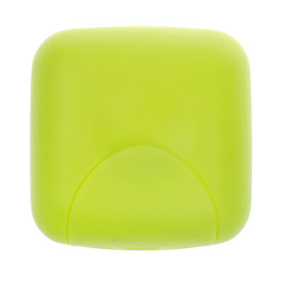 Home Shower Travel Hiking Soap Box Dish Plate Holder Case Container Green