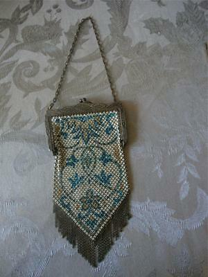 Vintage Mandalian Marked Mesh Purse