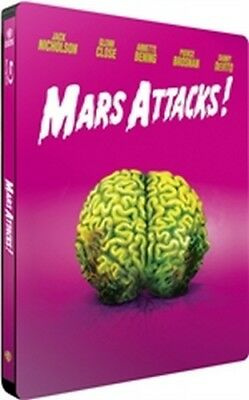 Mars Attacks! (Iconic Moments) (Blu-Ray Disc - SteelBook)