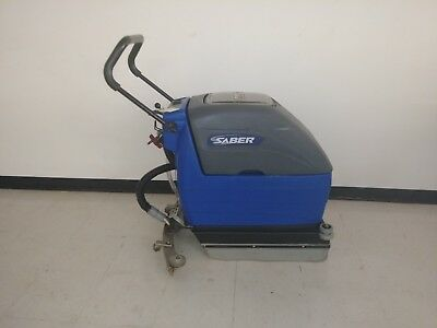Windsor Saber 17in floor scrubber new batteries, charger included