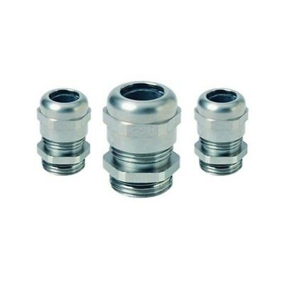 M12, M16, M20, M25, M32, M40, M50 - Stainless Steel Cable Gland With Locknut