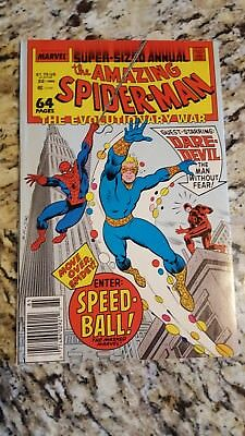 The Amazing Spider-Man Annual #22 ([July] 1988, Marvel)1st appearance speedball