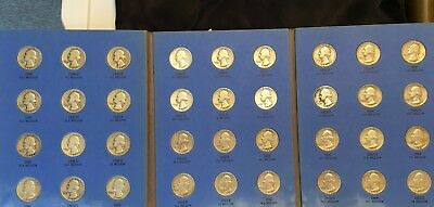 Complete Set Whitman 90% Silver Washington Quarters Collection Two (36 coins)