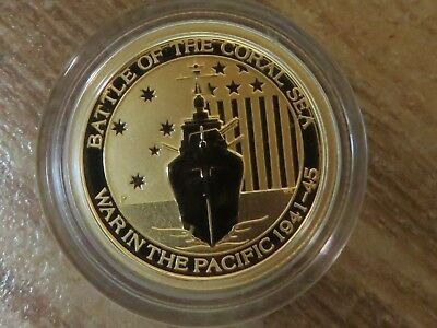 2015 $15 Australia Gold 1/10 oz .9999 Battle of Coral Sea with free shipping