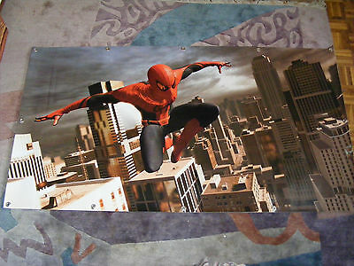 Spiderman Wandbild Marvel Comic 173 cm X 93 cm auf PVC Plane Spinne Spider Deko