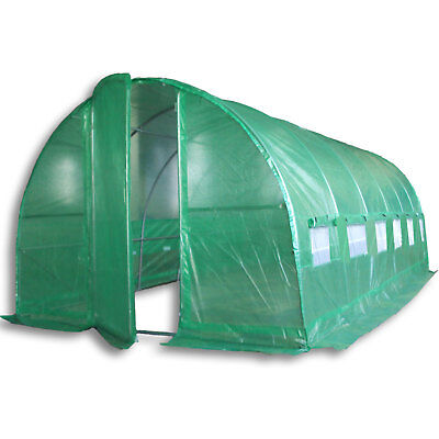 6m x 3m Poly Tunnel Polytunnel Pollytunnel Polly Tunnel Greenhouse Green House