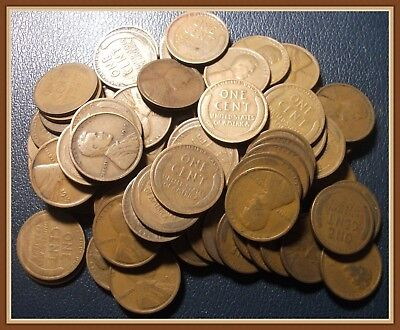 1919 D Lincoln Wheat Cent, 1 (ONE) Collectible Early Date, Nice G-VG Grades