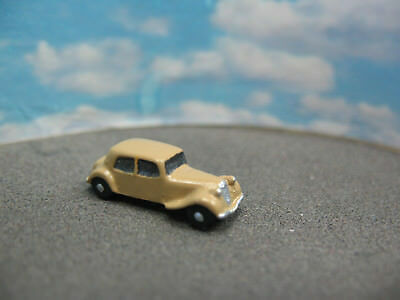 MWB Modell, Spur Z,1:220, Citroen Traction, Cremegelb