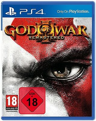 PS4 Game God of War 3 III Remastered New