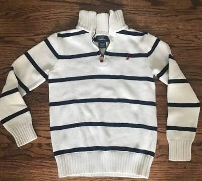 Boys M Ralph Lauren Polo 1/4 Zip Cotton Sweater *MINT*