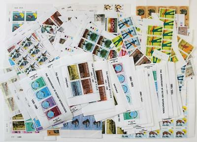 Zimbabwe MNH and CTO Duplicated Stamps, Blocks, MS's. Approx 200 Grams