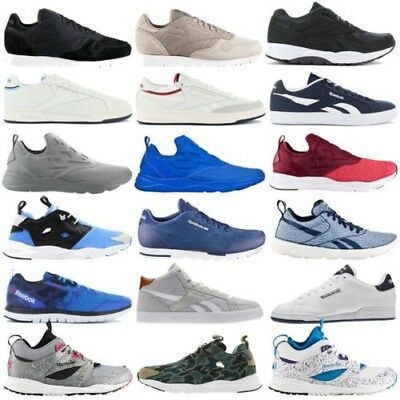 5c8314abd66 Reebok Classic Sneaker Mens Shoes Casual Trainers Leather NPC Ventilator