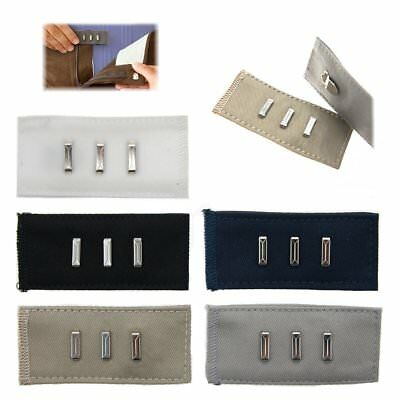 5 Waist Extenders Hook N Eye Clips Pants Skirts Maternity Fit Size Expander Tool