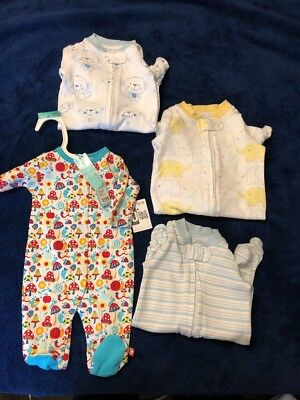 unisex newborn baby clothes lot