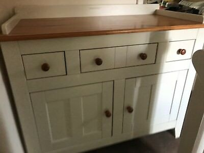 Genial John Lewis Ivory And Pine Changing Table / Sideboard