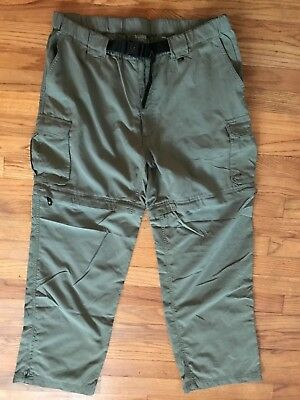 Boy Scouts of America Switchback Convertible Uniform Pants Mens Large X 30