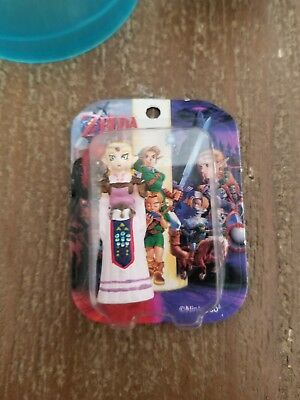 Legend of Zelda Ocarina Time Adult Princess Mini TOMY Figure Nintendo Complete!