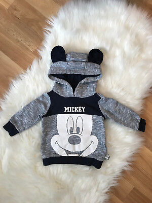 C&A Disney Mickey Mouse Hoodie Pullover Gr. 62*TOP