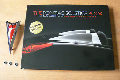 Pontiac Solstice book by Gary Witzenburg. Includes Saturn Sky.
