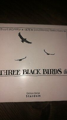 BLUEBERRY portfolio THREE BLACK BIRDS par MOEBIUS / GIRAUD