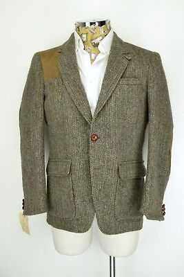 "Harris Tweed Shooting JACKET 40"" Short Box Pleat Country Sport Christopher Dawes"