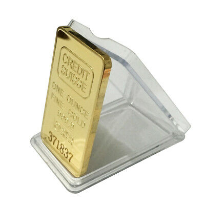Modern 24K Gold-Plated Souvenir Coin Switzerland Bullion Bar