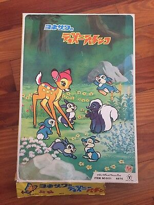 Rare Disney Bambi Japanese Pachinko Machine Game Vintage