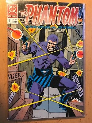 The Phantom Comic Book #2 DC Comics April,1989, 2nd Issue