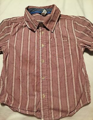 Baby Gap Boys Short sleeve Button Up Shirt Size 4T Years