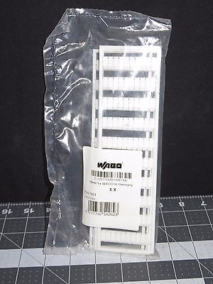 793-501 Wago 793501 Blank Terminal Block Markers, 5 Cards/pkg ((77-4138))