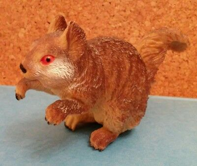 Red Bellied Tree Squirrel plastic collectable figurine