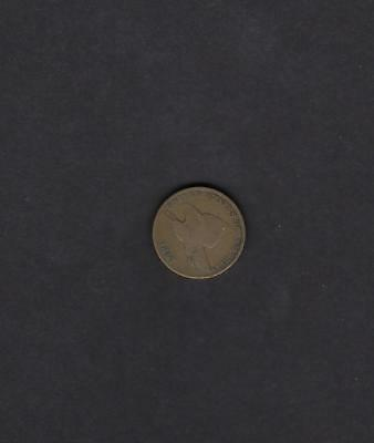 US 1857 Flying Eagle One Cent Coin in G to VG Very Good Condition
