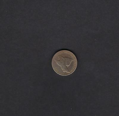 US 1857 Flying Eagle One Cent Coin in G to VG Very Good Cleaned Condition