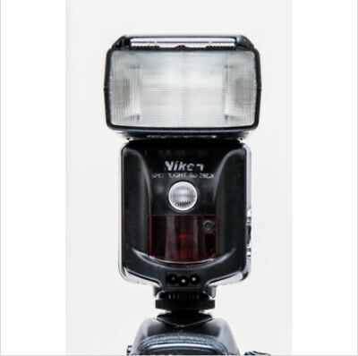 Nikon SB-28 shoe-mount Flash with Optical Slave Adapter NEW CONDITION