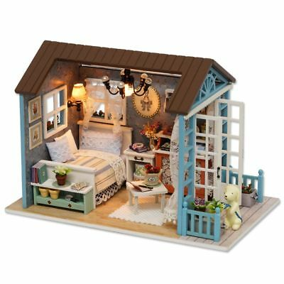 DollHouse Furniture DIY Miniature Cover With House Toys Gift 1: 24 scale M2T8