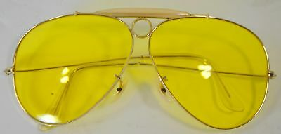 Vintage BAUSCH & LOMB Bullet Hole SHOOTER SUNGLASSES RAY BAN