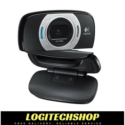 Logitech C615 HD Webcam - Full HD 1080p recording - Video call in HD 720p