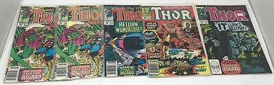 Thor Comic Book Lot - Bagged & Boarded