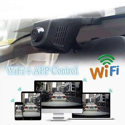 170° HD 1080P Car WiFi Hidden Camera DVR Dash Cam Video Recorder G-Sensor CAM US