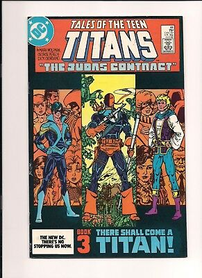 Tales of the TEEN TITANS #44 (1984) First NIGHTWING! Key Issue! High Grade!