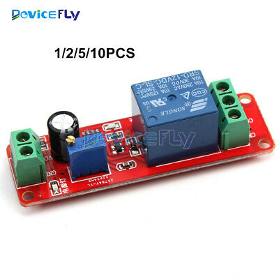 1/2/5/10PCS NE555 12V Delay Relay Shield Timer Switch Module 0 to 10 Second