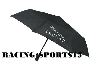NEW JAGUAR RACING Automatic Travel Umbrella Auto Open Close Compact Folding